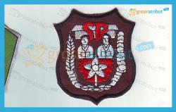 Badge Logo SD Bordir